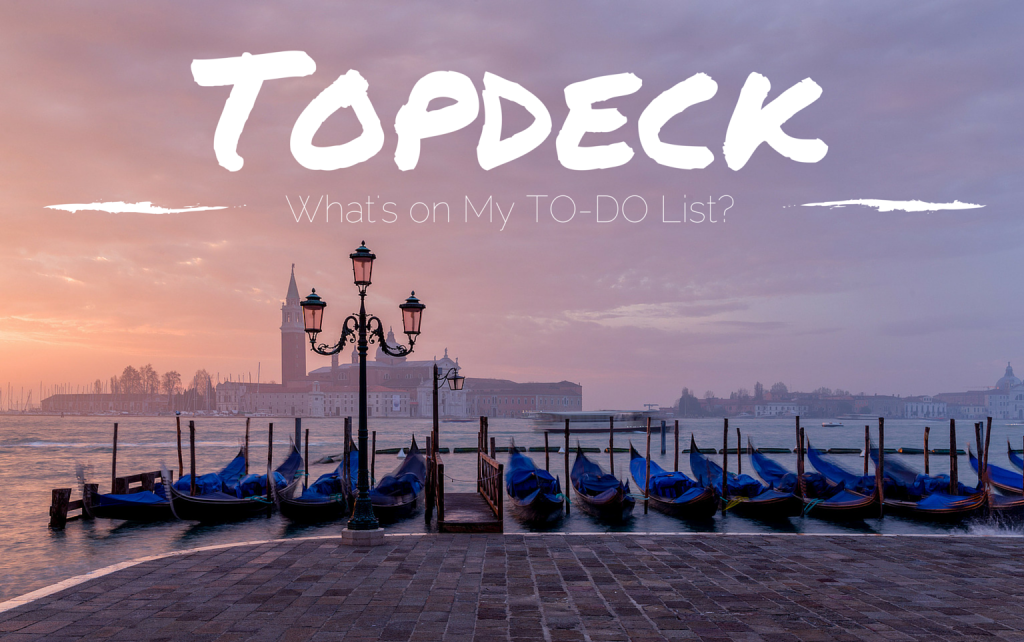 Topdeck To-Do List