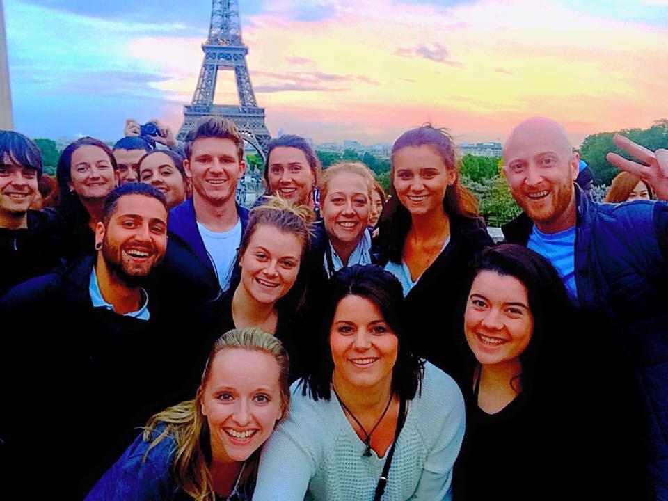 Taking Topdeck - Paris