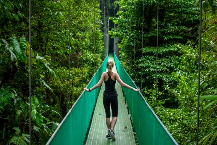 Hiking Through the Hanging Bridges of Monteverde